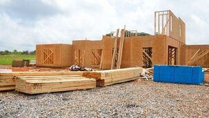 Dallas residential framing